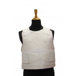 Concealable Bullet Proof Vest Protection Level 3A Color White