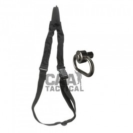 CAA Tactical OPS + PBSS - One point sling & swivel adaptor.  Aluminum & Textile Made