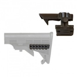 CAA Tactical PRFCS + ACP - Picatinny Rail for Most AR15 Collapsible Stocks with ACP (PRFCSCOMBO)