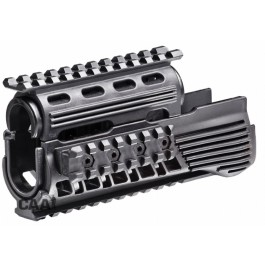 CAA Tactical RS47-SET - Quad picatinny rails handguard system Polymer made for AK47/74