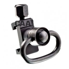 CAA Tactical SPS + PBSS Standard Pivoting Sling Mount Includes PBSS Quick release rotating sling mount. Aluminum made.