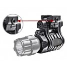 CAA Tactical UFH3 - 5 Positions Light/laser Mount - 24.4-27mm. Polymer Made