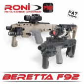 RONI-B92 Beretta F92 Pistol Carbine Conversion Kit By CAA Tactical