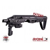 CAA Tactical RONI G2-9 - PDW Conversion kit for GLOCK 17, 18, 19, 22, 23, 25, 31, 32