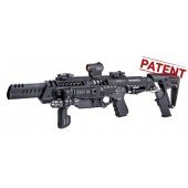 "CAA Tactical RONI C G2 PDW Conversion kit Longer Civilian Version for 16"" Barrel Glock gen' 3+4, including compensated models (17 and 17C)"